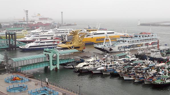 서해 풍랑주의보…인천여객선 8개 항로 운항 통제