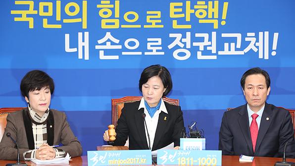 """민주 """"경선 역선택 우려…박사모에 법적조치 검토"""""""