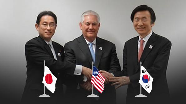 한미일, '北비핵화 완전성·검증가능성·불가역성' 원칙 확인