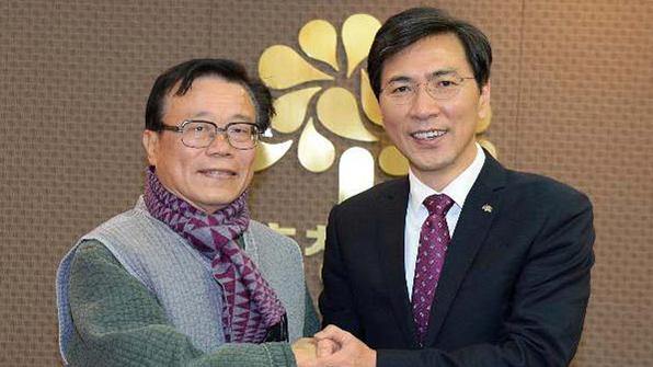 안희정, 이동필 전 장관 인삼엑스포조직위원장 위촉