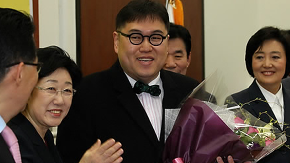 '나꼼수' 김용민, 한국당 입당 하루만에 제명