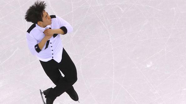 """김진서 """"스케이트 날집 깨져 당황""""…점프 실수 연발"""