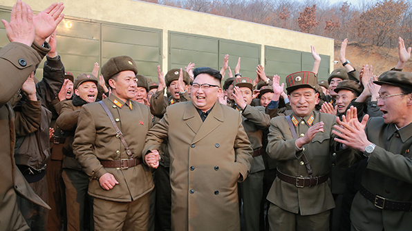 北, 새 미사일 개발에 '개발창조형 공업 전환' 강조