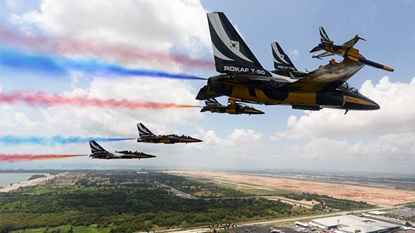 공군 '블랙 이글스' 오늘 말레이시아 에어쇼 참가