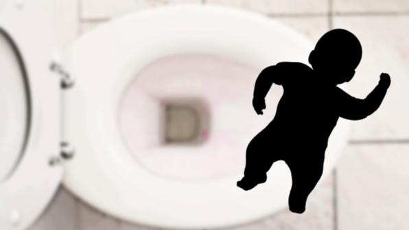 화장실에서 낳은 아기 변기에 버린 40대 여성 검거