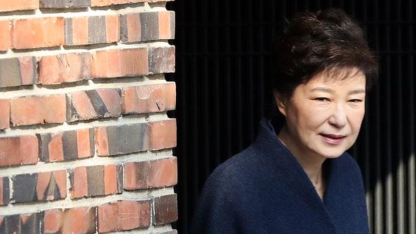 [풀영상] 박근혜 전 대통령 자택~검찰 출석 영상