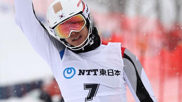 정동현, FIS 극동 러시아대회 회전 우승