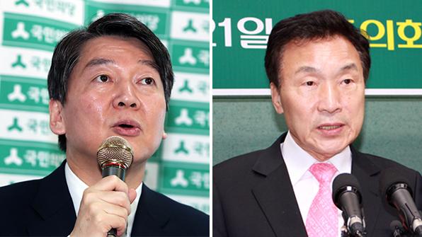 안철수·손학규, 호남 경선 앞두고 표심 잡기