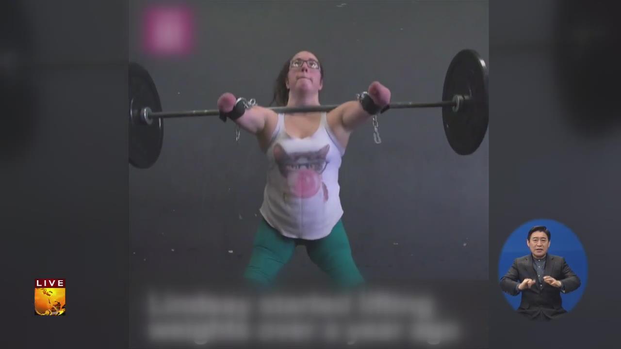 [글로벌24 브리핑] 팔·다리 없어도 가능해!…45kg '번쩍'