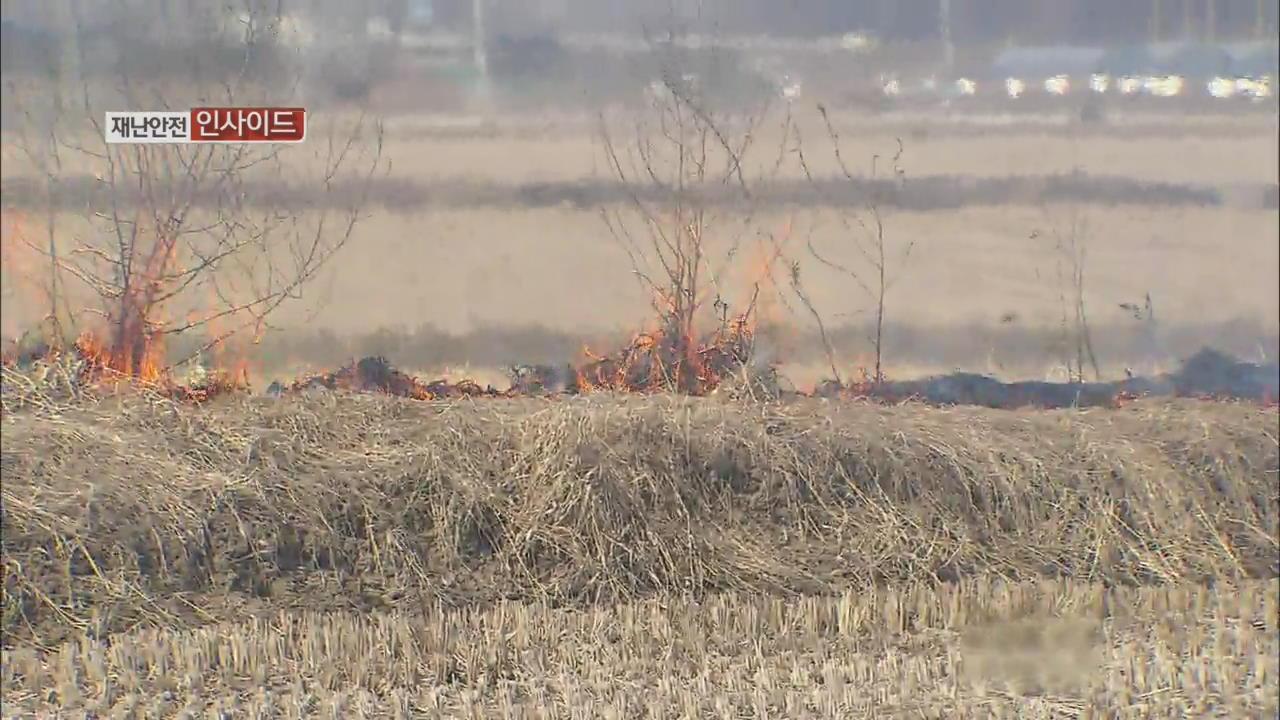 [재난·안전 인사이드] 산불의 44%는 농촌에서 소각하다 발생