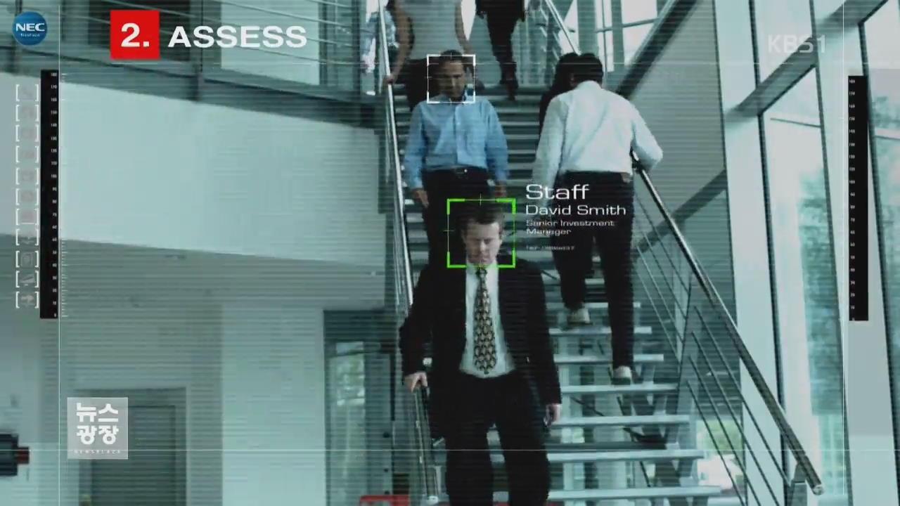 동영상 속 얼굴 인공지능이 실시간 포착