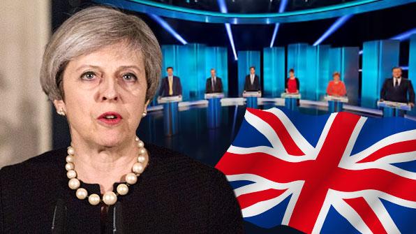 """[특파원리포트] """"TV 토론은 못해""""…영국 총리에 비난 쇄도"""