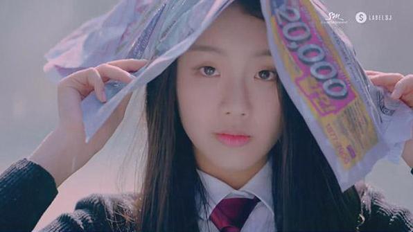 민가린, 예성 '봄날의 소나기' 뮤직비디오 출연