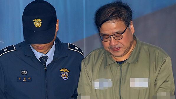 """안종범 """"수첩 내용 기억 안나…재단 출연 압박하려 총수 면담 한 것 아냐"""""""