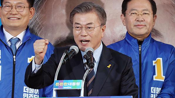"""文 측, '돼지 흥분제' 논란 홍준표에 """"국민에 사죄하라"""""""
