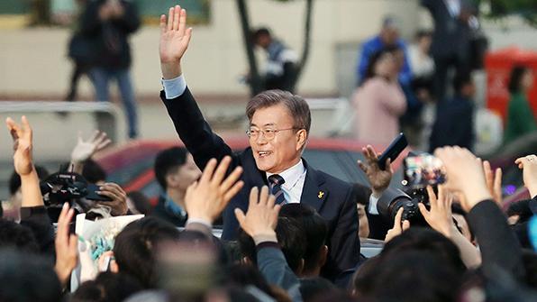 문재인 부산·울산·경남 유세…부산 시민들과 1문 1답