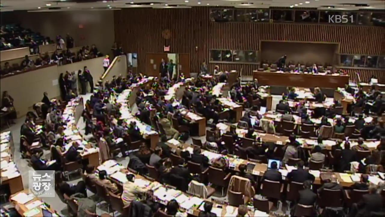 2007년 북한인권결의안 표결…당시 상황은?