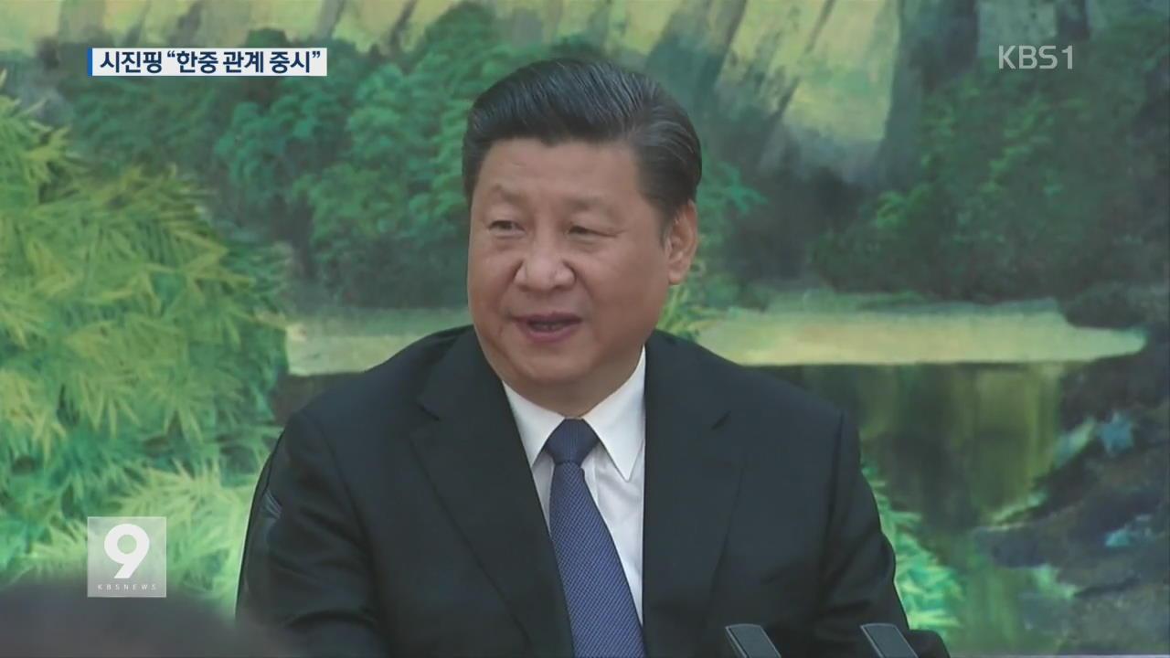 """이해찬, 시진핑 면담…""""한중 관계 정상 궤도로"""""""