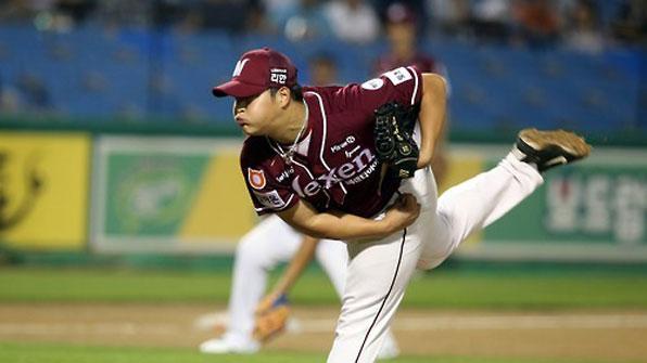 조상우 6이닝 2실점…넥센, 수원서 8연승 행진