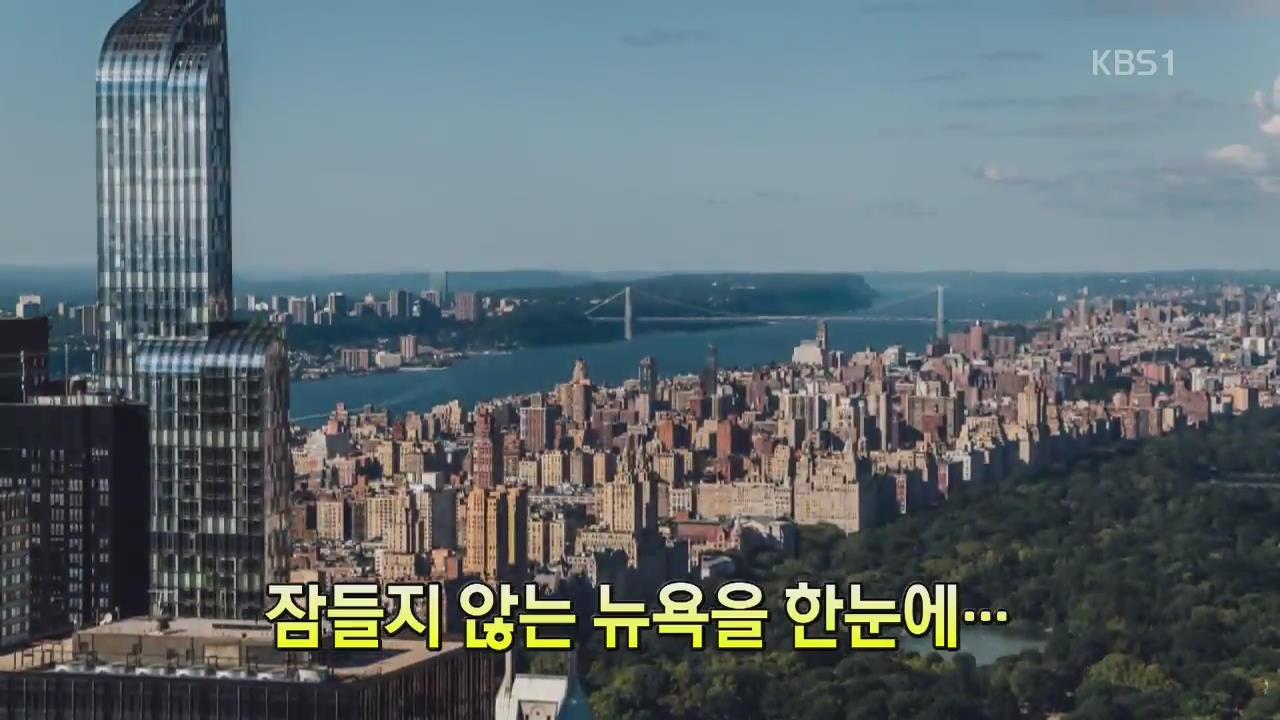 [세상의 창] 잠들지 않는 뉴욕을 한눈에…