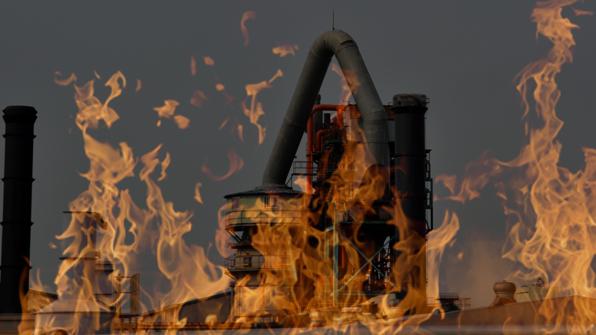 공장에서 불…천여 만 원 재산 피해