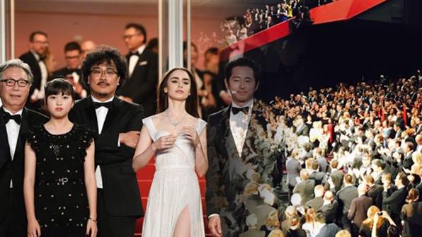 칸영화제의 밤 달군 '옥자'…공식 상영서 기립박수 받아