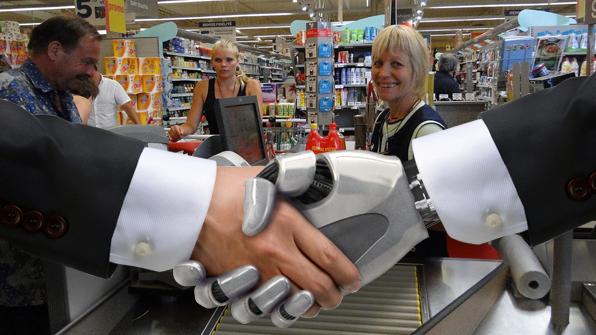 일자리 대체할 로봇…제조업보다 소매업, 男보다 女 '더 위협'