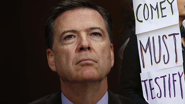 코미 FBI 前국장, 상원서 '러시아 스캔들' 공개증언 결정