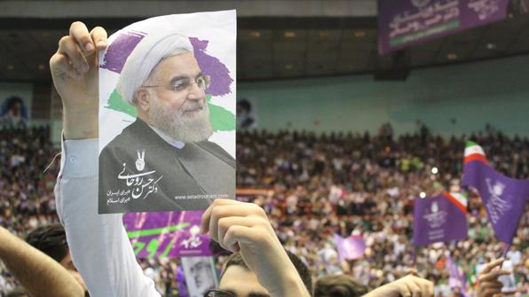 """""""이란 대선 개혁·중도파 로하니 중간집계 58% 득표""""…압승 예상"""