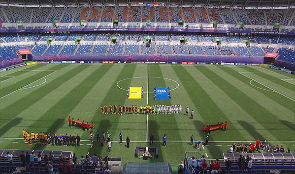 [U20월드컵] B조 독일:베네수엘라 전반 H/L