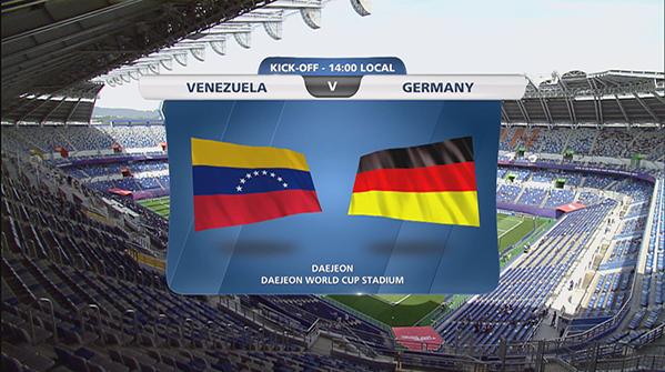 [U20월드컵] B조 1차전 <베네수엘라 2:0 독일> 하이라이트