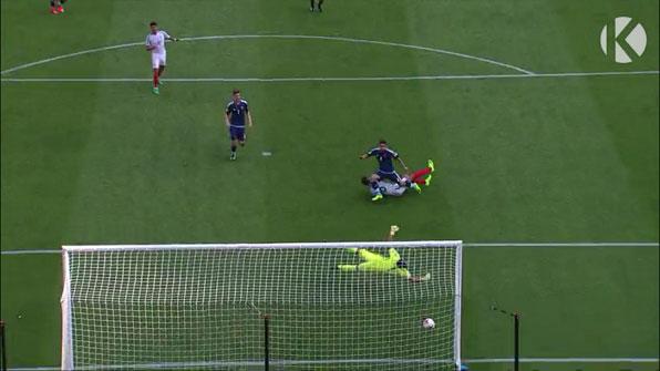 [U20월드컵] 잉글랜드, 아르헨티나와의 A조 1차전 선제골