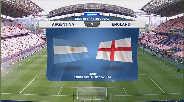 [U20월드컵] A조 <잉글랜드 3:0 아르헨티나> 하이라이트