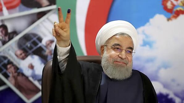 로하니 이란 대통령 재선 성공…최종 57.1% 득표