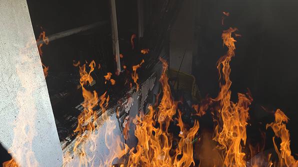 경기 의정부 아파트 화재…1200만 원 피해