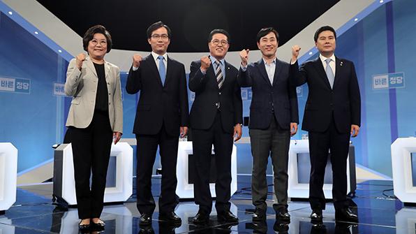 바른정당 대표주자들, TV토론회서 공방