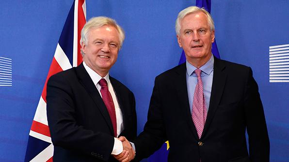EU·英 '브렉시트협상' 공식시작…우선협상의제· 협상일정 합의
