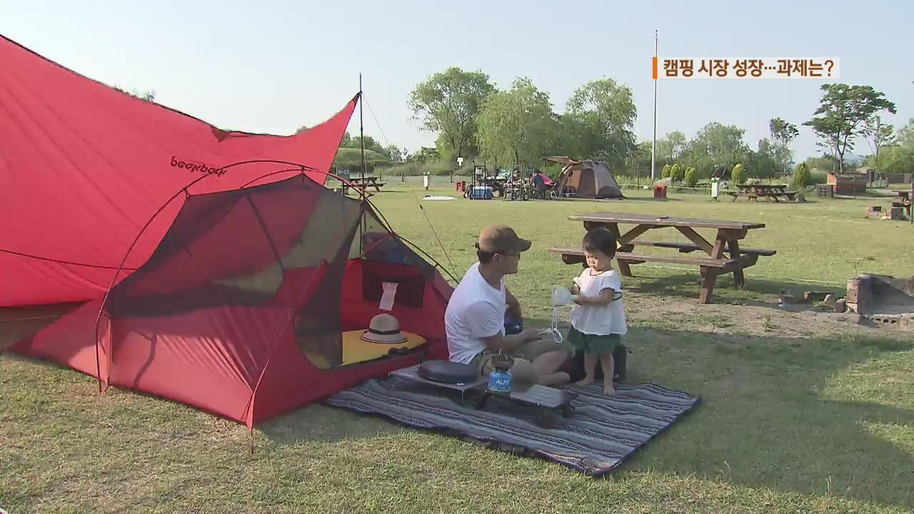 """""""불편함 즐겨요""""…캠핑 시장 급성장"""