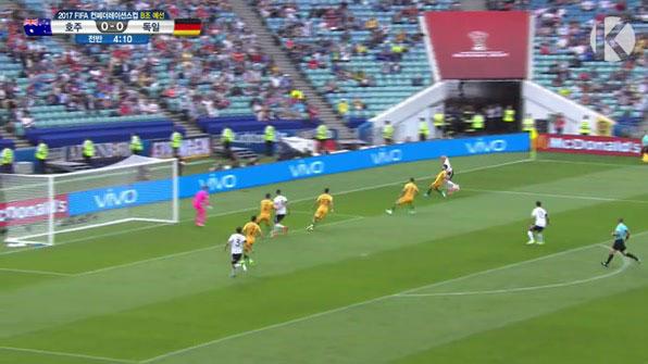 [컨페드컵] '젊어진' 독일, 첫 경기 승점 3점 챙겼다 <독일 3:2 호주> 하이라이트