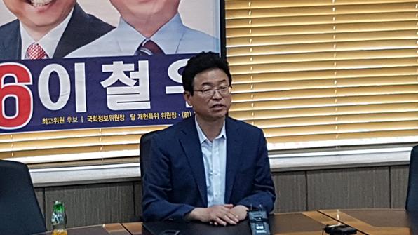 """이철우 """"文정부, 오래 못 갈 것"""" 발언 논란…與 """"막말이 금도 넘어"""""""