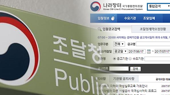 나라장터 쇼핑몰 납품업체 선정 시 최저가낙찰제 폐지