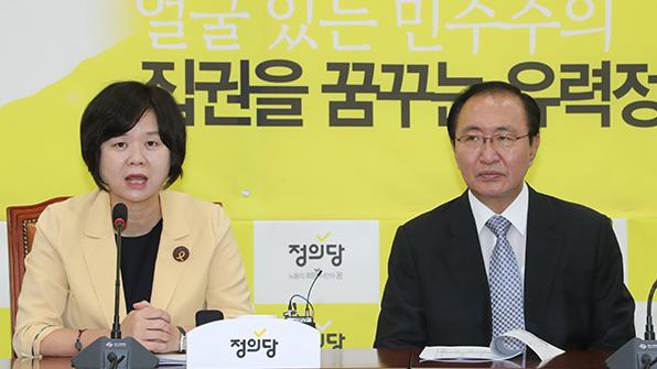 정의당, 'DJ 모욕' 前대의원 징계절차 착수