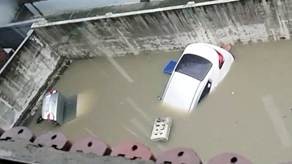 집중 호우로 車침수피해 속출…5대 보험사에 1천100여건 접수