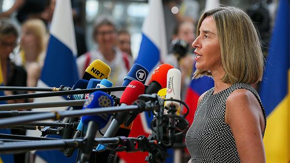 """EU """"북핵 문제, 군사적 해결 아닌 외교적·정치적 해법 지지"""""""