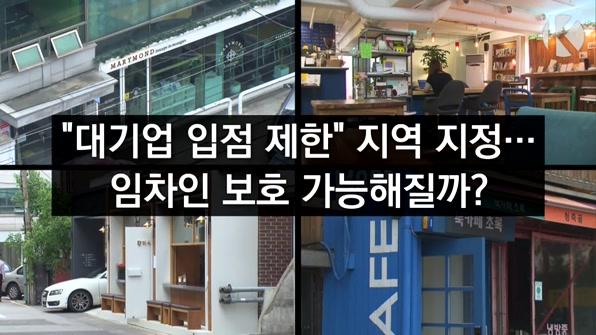 """[라인뉴스] """"대기업 입점 제한""""…상생 가능할까?"""