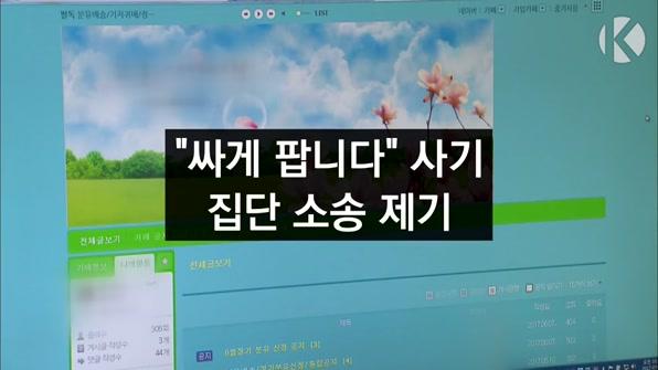 """[라인뉴스] '싸게 팝니다' 카페·블로그 영업 피해…""""집단소송"""""""