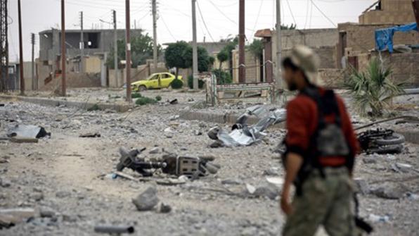 """쿠르드·아랍연합군 """"IS수도 락까 중심부 진입…격렬 교전"""""""