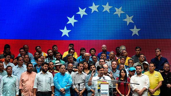 """베네수엘라 야권, 제헌의회 의원 선거 저지 위해 """"24시간 총파업"""""""