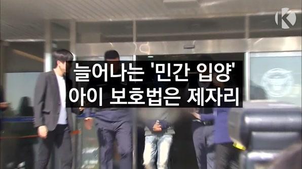 [라인뉴스] 학대 사각지대 '민간입양'…'하루 3시간 교육'이 대안?