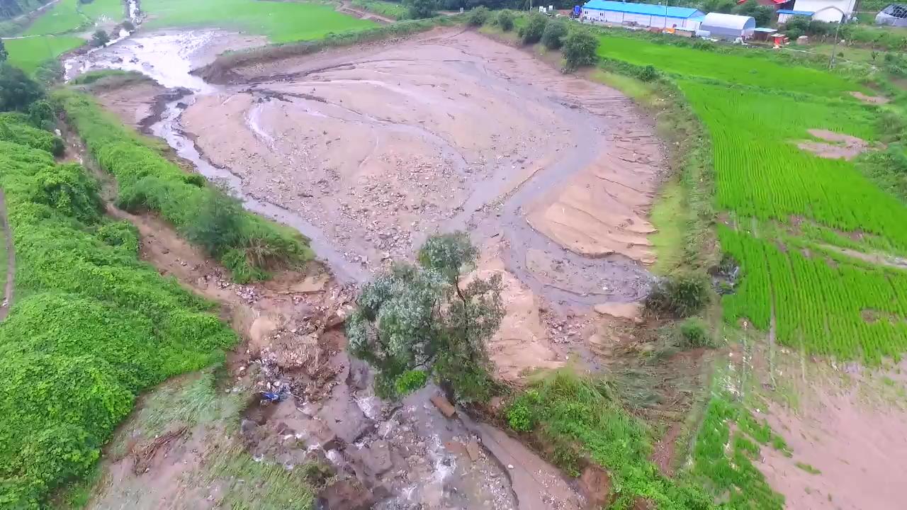 가뭄 뒤 폭우까지…농경지 피해 심각